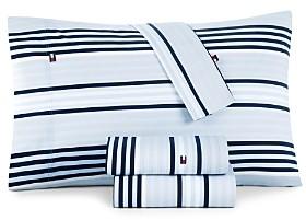 Tommy Hilfiger Ocean Stripe Sheet Set, Twin Xl