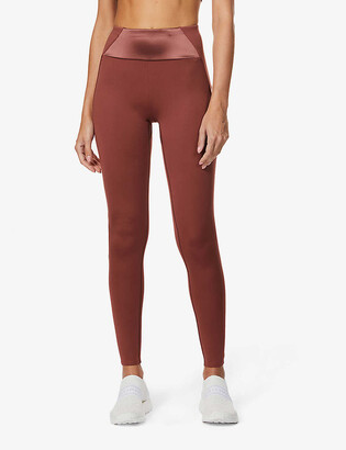 Vaara Kari high-rise stretch-jersey leggings