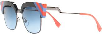Fendi Women's Ff 0241/S Cat-Eye Sunglasses, Never Worn
