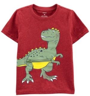 Carter's Toddler Boys Dinosaur Peek-a-Boo Jersey Tee
