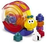 Mattel Fisher Price Brilliant Basics Singin' Snail Pail