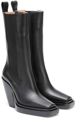 Bottega Veneta Lean leather ankle boots