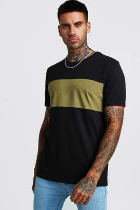 boohoo Colour Block T-Shirt