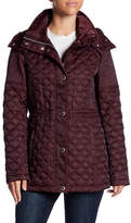 Andrew Marc Calypso Quilted Removable Hood Jacket