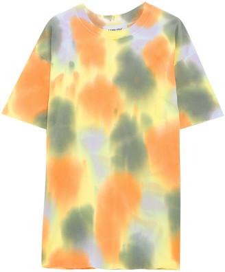 Ambush Tie-dyed Cotton-jersey T-shirt