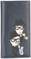 Dolce & Gabbana designer's patch long wallet