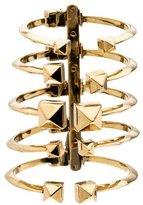 Giuseppe Zanotti Gold Tone Spinal Stud Cuff