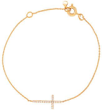 Tai Simple Medium Cross Chain Bracelet
