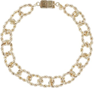 """Italian Gold 6-3/4"""" Bracelet with ClickSecure Clasp 14K, 4.9g"""