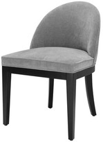 Eichholtz Fallon Upholstered Dining Chair Upholstery Color: Gray