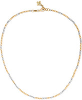 Carolina Bucci Discoball 18-karat Gold And White Gold Choker - one size