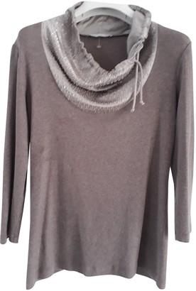 Fabiana Filippi Brown Cotton Knitwear for Women