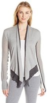 Blanc Noir Women's Moto Sweater Cardigan