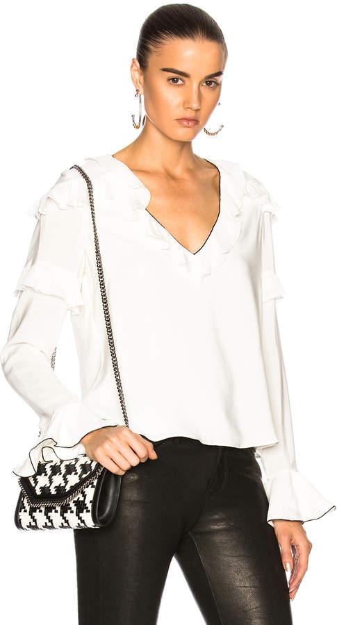Alexis Libbie Top in White | FWRD