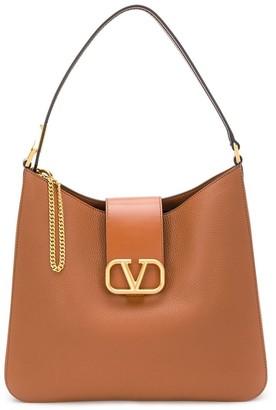 Valentino VLOGO hobo shoulder bag
