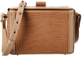 Nico Giani Cerea Mini Croc-Embossed Leather Box Bag