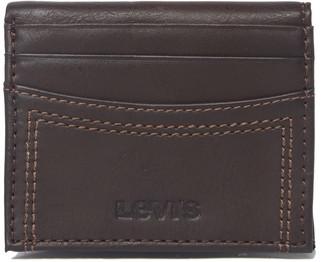 Levi's Delgado RFID Leather Bifold Wallet