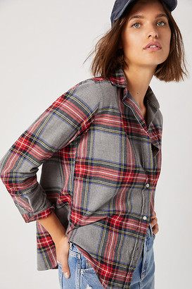 Grayson The Hero Flannel Buttondown By in Red Size XS