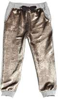 Miss Grant Sequined Cotton Sweatpants