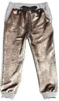 Sequined Cotton Sweatpants