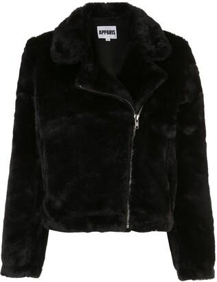 Apparis Off-Centre Zipped Jacket