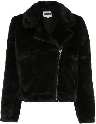 Apparis Tukio off-centre zipped jacket