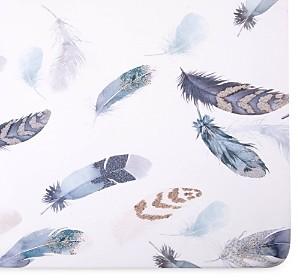 Oilo Featherly Jersey Crib Sheet