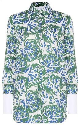 Victoria Victoria Beckham Printed satin shirt