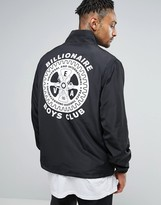 Billionaire Boys Club Windbreaker Jacket With Mechanical Back Print