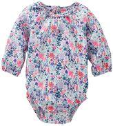 Osh Kosh Baby Girl Floral Ruffled Bodysuit