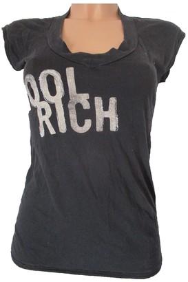 Woolrich Black Cotton Top for Women