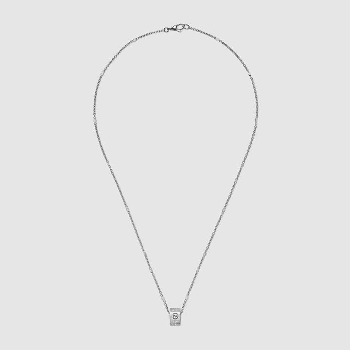 Gucci Icon necklace in white gold