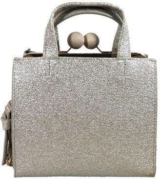 Un Billion Metallic Shimmer Square Handbag - Gama Crossbody
