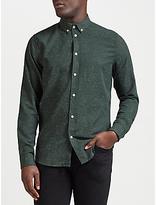 Samsoe & Samsoe Liam Long Sleeve Shirt, Pine Melange