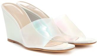 Maryam Nassir Zadeh Paradise leather wedge sandals