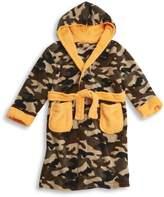 MINIKIDZ Kids Boys Infant Camo Bath Robe (Sizes 2-6 Years) Plush Army Night Gown
