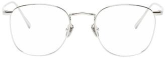 Linda Farrow Luxe Silver C479 Glasses
