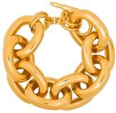 Kenneth Jay Lane Link gold-tone bracelet
