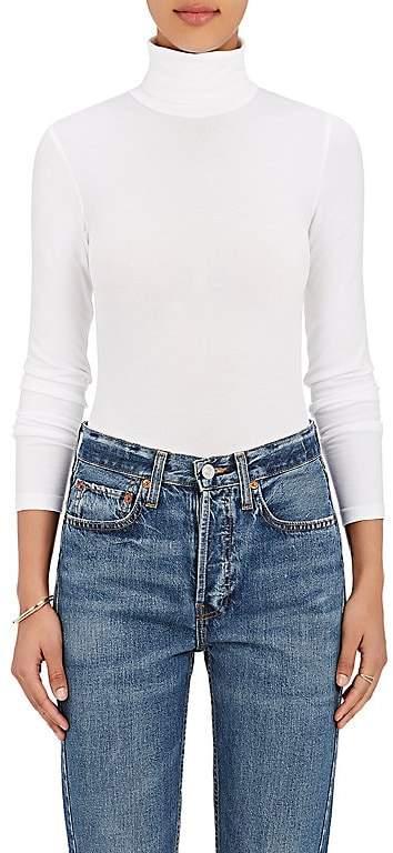Wolford Women's Cotton-Blend Turtleneck Bodysuit