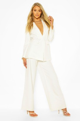 boohoo Tailored Mix & Match Wide Leg Pants