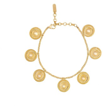 Loft & Daughter Kalbelia Coin Charm Bracelet