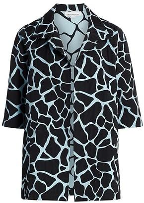 Caroline Rose, Plus Size Fresh & Flirty Jacquard Jacket