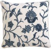 Crewel Blue Pillow