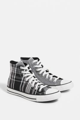 Converse Chuck Taylor All Star Mix & Match High-Top Trainers - Black UK 3 at Urban Outfitters