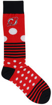 For Bare Feet New Jersey Devils Dots and Stripes 538 Socks