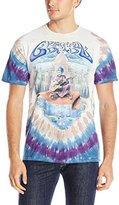 Liquid Blue Men's Grateful Dead-Carpet Ride T-Shirt