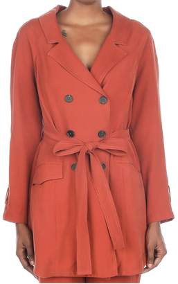 Current Air Long sleeve trench coat