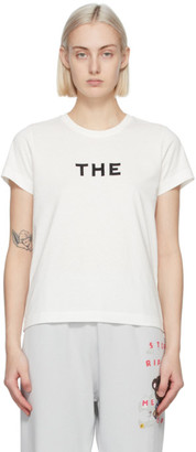 Marc Jacobs White The T-Shirt