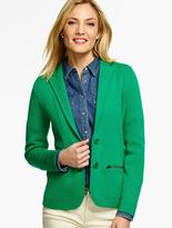 Talbots Sweater Blazer