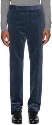 Ralph Lauren Purple Label Navy Corduroy Gregory Trousers